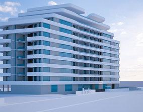 3D model composite Highrise Building