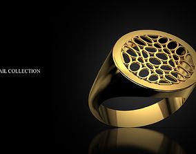 3D printable model Ring Signet