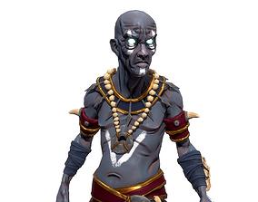 3D model rigged Shaman