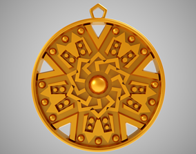 Pentagon Necklace 3D printable model