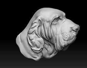 3D print model Dog head