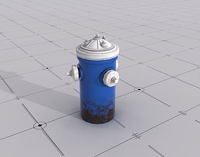 Fire Hydrant environment 3D asset low-poly
