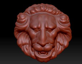 Lion mascaron 3D model