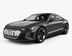 3D Audi e-tron GT 2018