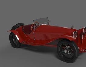 3D asset Alfa Romeo 8C 2300 MM Spyder 1931