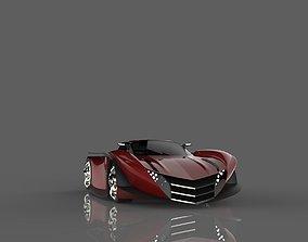 pagani thundura 3D model