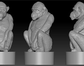 3D print model the figure of a monkey