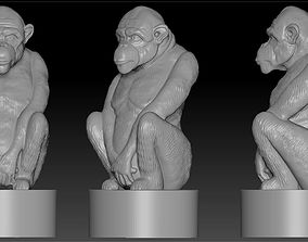 3D printable model monkey4