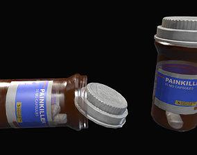 Medicine Bottle 3D asset