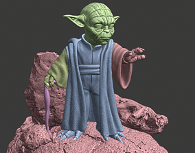 3D print model Yoda Yoda