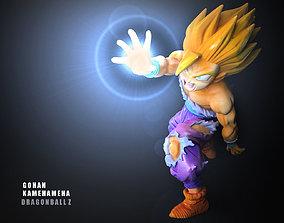 3D model super-saiyan GOHAN KAMEHAMEHA
