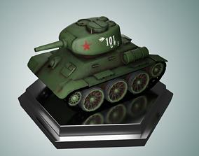 3D model Mini T34-85 Tank