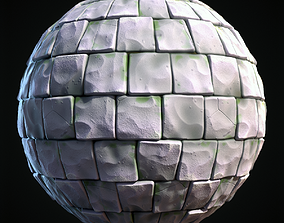 Cabblestone Stylized Hand Painted Textures 3D