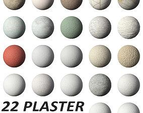 PLASTER PACK MATERIALS PBR 3D