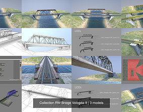 3D model Collection RW Bridge Vologda-II