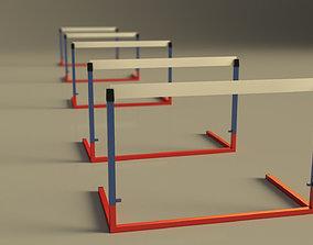 3D model RACE---Hurdle