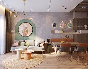 3D model Apartment Q7