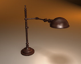3D RESTORATION HARDWARE Franklin pharmacy table lamp