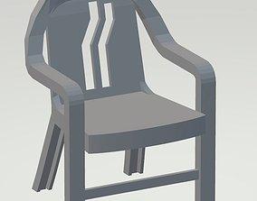 Chair Cyberpunk 3D print model