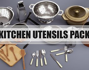 Kitchen Utensils Pack 3D model