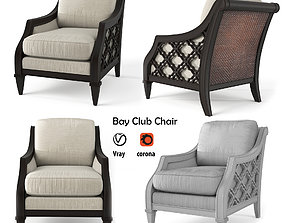 3D model Bay Club Chair