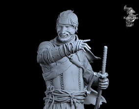 Ghost of Tsushima games 3D print model