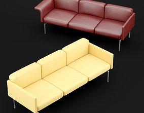 3D model Sofa mabel triple BT design