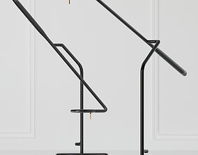 3D model Normann Copenhagen Flow Table Lamp EU 3 Colors