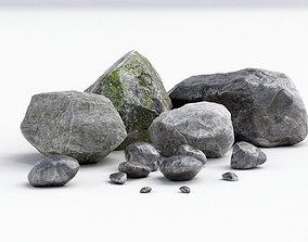 Stones Rock 3D