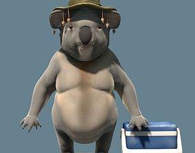 Koala Bill Character 3D