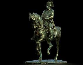 3D asset Napoleon Brass Statue