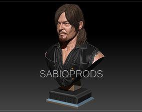 DARYL DIXON WALKING DEATH SABIOPRODS 3D PRINT MODEL