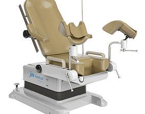 3D model Gynecological examination chair JW MEDICAL