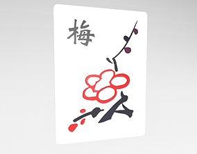 Mahjong v1 034 3D asset