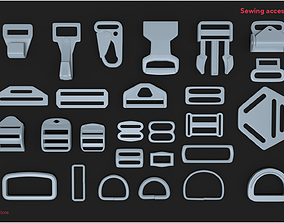 Sewing accessories Vol 01 3D asset