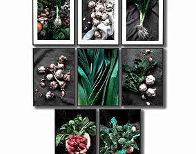 3D model Posters with vegetables for the kitchen