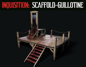 3D asset Inquisition - Scaffold and Guillotine