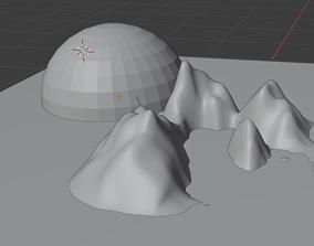 Sunshine animation 3D model
