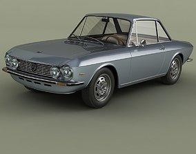 Lancia Fulvia Coupe series 2 3D model