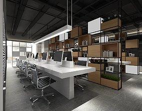 3D model Office meeting room reception hall 43