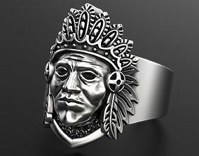 wildwest 3D printable model Indian ring