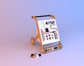 Baby activity walker toy 3D model