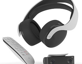 PULSE 3D wireless headset Media remote HD camera