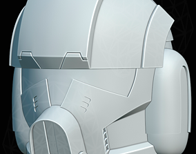 3D print model Clone Trooper pilot from Phase 2