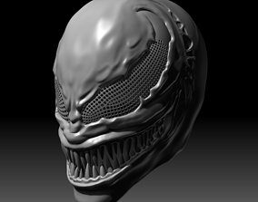 venom Venom Mask V2 3D printable model