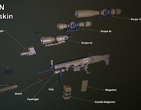 3D model Scar FN