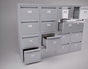 Filing Cabinet 3D