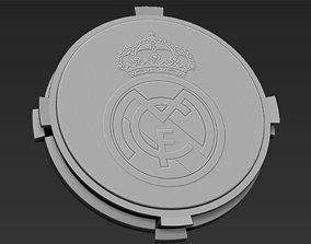 3D printable model Decorative Real Madrid Base Stand for