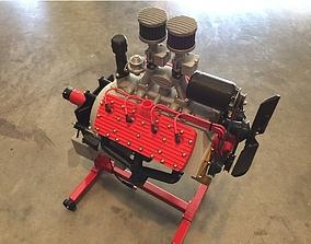 Ford flat head V8 working model engine