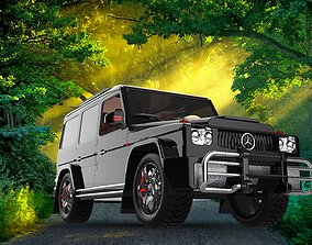 Mercedes Benz G Class G63 AGM 2021 3D printable model